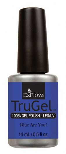 EzFlow Trugel Led/UV Gel Polish - Blue are You? - 0.5oz/14ml